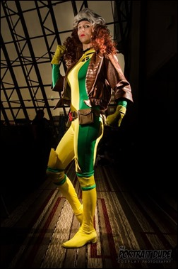 Sheikahchica Cosplay as Rogue (Photo by The Portrait Dude - Cosplay Photography)