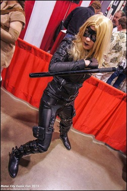 Sheikahchica Cosplay as Black Canary (Photo by Thomas Spanos)