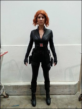 Sheikahchica Cosplay as Black Widow