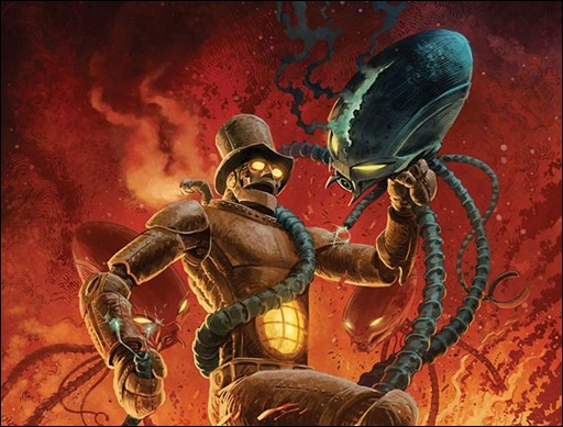 The Steam Man #1