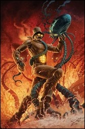 The Steam Man #1 Cover