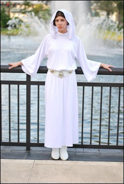 Sheikahchica Cosplay as Princess Leia Organa (A New Hope Senatorial Dress) (Photo by Tk8919 Photography)