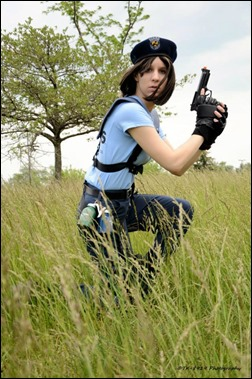 Sheikahchica Cosplay as Jill Valentine (S.T.A.R.S. Uniform) (Photo by Tk8919 Photography)