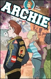 Archie #3 Cover - Caldwell Variant