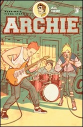 Archie #3 Cover - Chiang Variant
