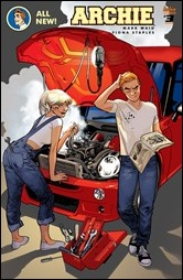 Archie #3 Cover - Immonen Variant