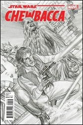 Chewbacca #1 Cover - Ross Sketch Variant