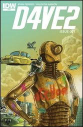 D4VE2 #1 Cover