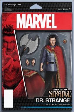 Doctor Strange #1 Cover - Christopher Action Figure Variant