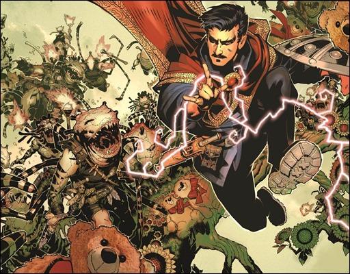 Doctor Strange #1 Preview 1