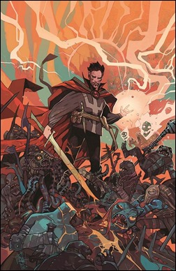 Doctor Strange #1 Cover - Rebelka Variant