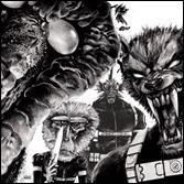 Howling Commandos of S.H.I.E.L.D. #1 Cover - Santiago Hip-Hop Variant