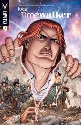 Ivar, Timewalker #9 Cover - Portella Variant
