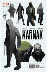 Karnak #1 Cover - Zaffino Design Variant