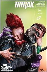 Ninjak #7 Cover A - Suayan