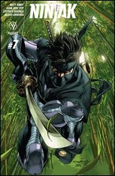 Ninjak #7 Cover - Segovia Variant