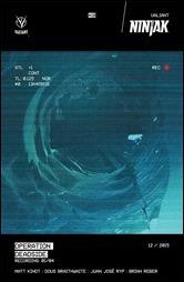 Ninjak #10 Cover B