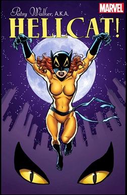Patsy Walker A.K.A. Hellcat #1 Cover - Perez Variant
