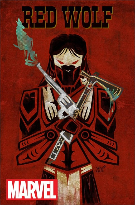 Red Wolf #1 Cover
