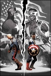 Sam Wilson, Captain America #1 Cover - Acuna Variant