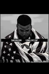 Sam Wilson, Captain America #1 Cover - Asrar Hip-Hop Variant