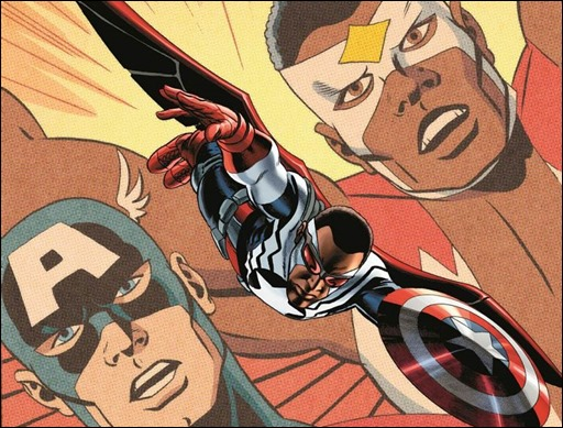Sam Wilson, Captain America #1