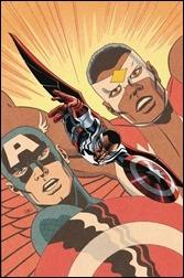 Sam Wilson, Captain America #1 Cover - Cassaday Variant