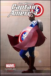 Sam Wilson, Captain America #1 Cover - Cosplay Variant