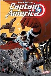 Sam Wilson, Captain America #1 Cover