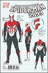 Spider-Man 2099 #1 Cover - Anka Design Variant