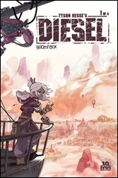 Tyson Hesse's Diesel #1 Cover A