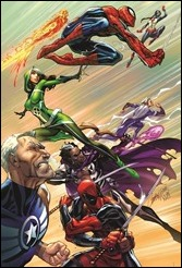 Uncanny Avengers #1 Cover - Campbell Variant