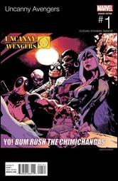 Uncanny Avengers #1 Cover - Hip-Hop Variant