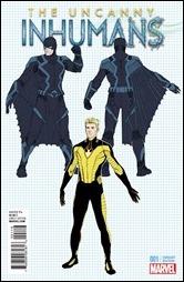 Uncanny Inhumans #1 Cover - McNiven Design Variant