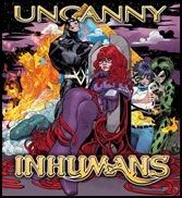 Uncanny Inhumans #1 Cover - Scott Hip-Hop Variant
