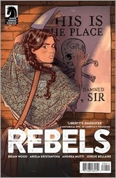 Rebels #8 Cover