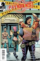The Paybacks #2 Cover
