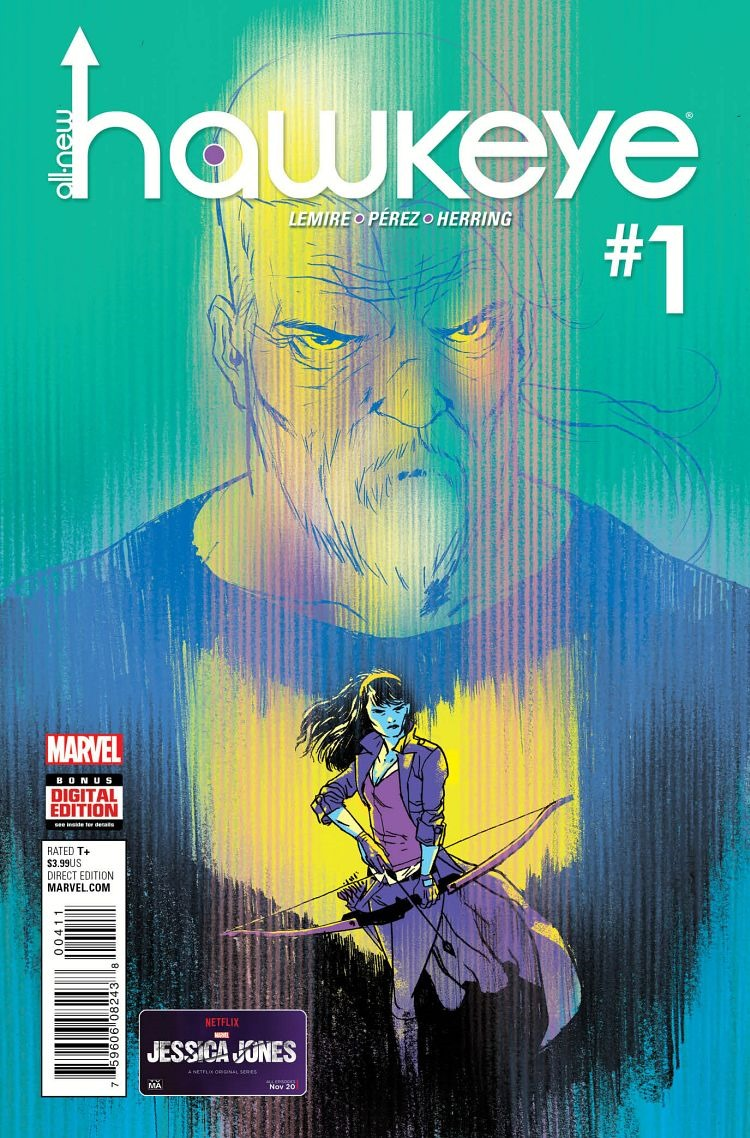 First Look: All-New Hawkeye #1 By Lemire & Perez