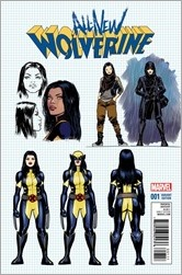 All-New Wolverine #1 Cover - Lopez Design Variant