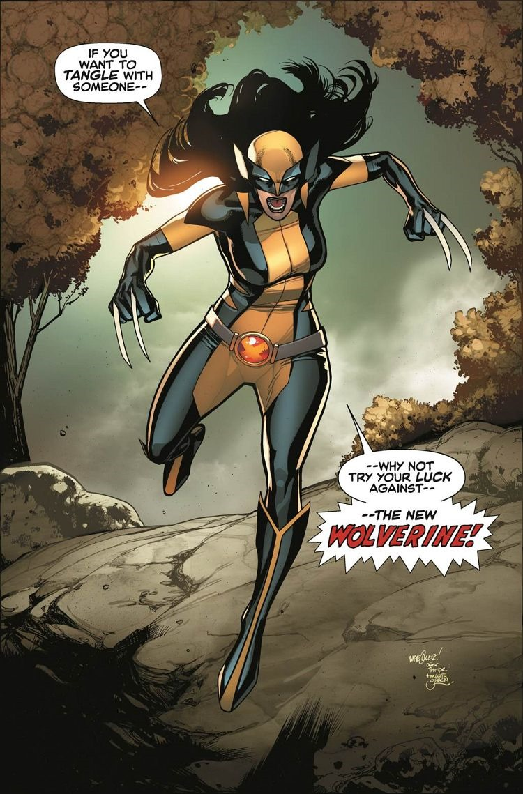 X-23 Becomes The All-New Wolverine in November X 23 Marvel