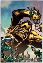 All-New X-Men #1 Cover - Jack Kirby Monster Variant