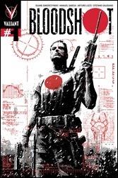 BLOODSHOT #1 (2012) – Variant Cover by David Aja