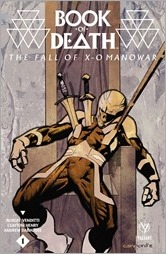 Book of Death: The Fall of X-O Manowar #1 Cover A - Nord