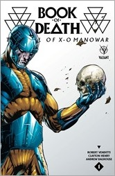 Book of Death: The Fall of X-O Manowar #1 Cover - Bernard Variant