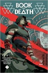 Book of Death #4 Cover - Rivera Variant