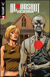 Bloodshot Reborn #7 Cover - Johnson Variant