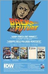 Back to the future comic book