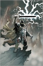 Black Knight #1 Cover - Powell Variant