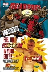 Deadpool #1 Cover - Johnson Candy Variant