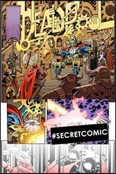 Deadpool #1 Cover - Koblish Secret Comic Variant